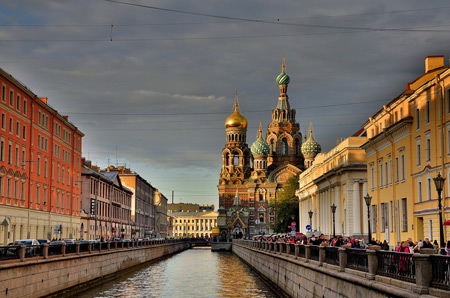 St, Petersburg River Cruise