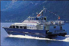 Fjord Cruise Ship