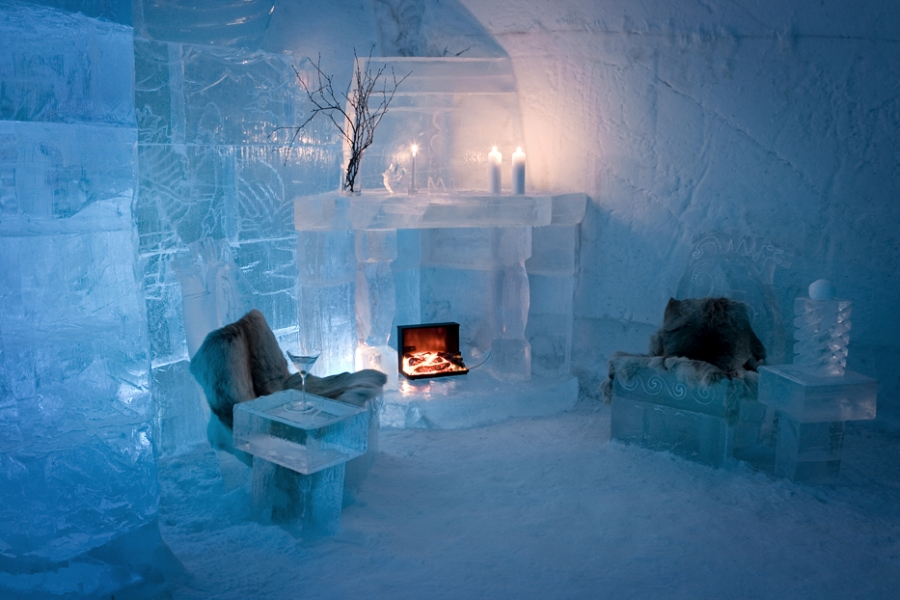 Snow Hotel Norway